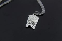 French Fries Necklace