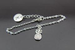 Pineapple Bracelet, Personalized Pineapple Bracelet