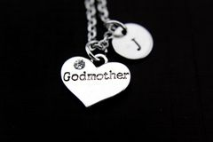 Silver Godmother Charm Necklace