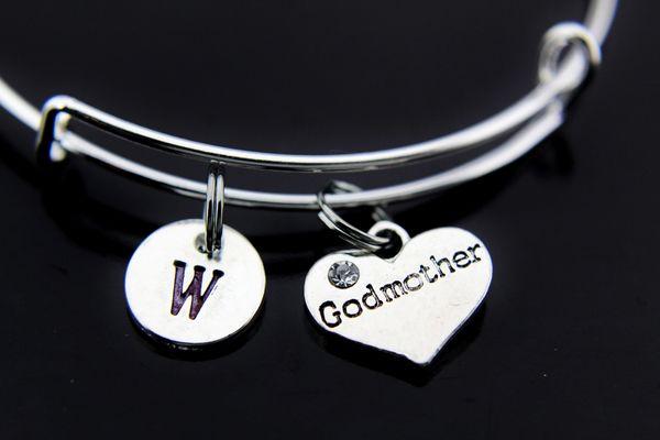 Silver Godmother Charm Bracelet