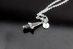 Silver Aerospace Charm Necklace