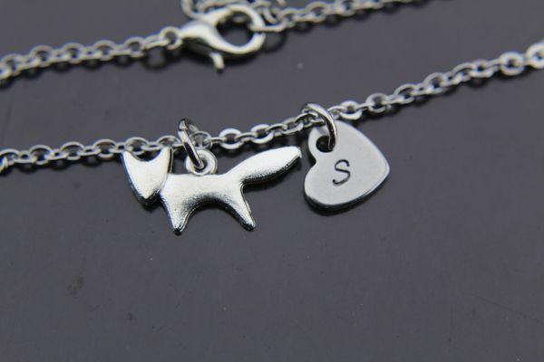 Fox Bracelet Fox Charm Fox Jewelry