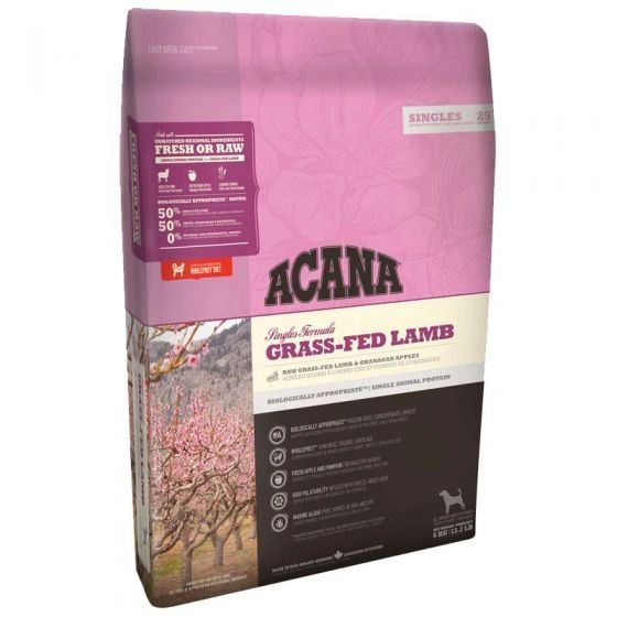 Acana Grass Fed Lamb Dog Food 6 Kg The Purple Seahorse Pet Store