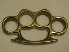 Real Deal Brass Knuckles