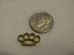 Micro Brass Knuckles - Brass
