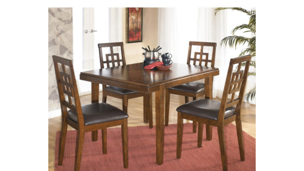 Ashley Table 4 Chair Dining Table Set The Furniture Exchange