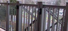 Key Link American Scranton Aluminum Gate