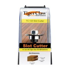 Tiger claw slot cutter tc120
