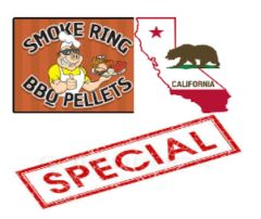 ***SPECIAL*** 20 Pound Bag of Smoke Ring Pellets Delivered in California