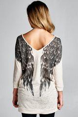 Ivory Wings Top