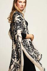 Black Ruggine Kimono