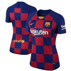 Women's Barcelona Jersey ( home ) 19-20 Custom
