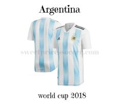 Argentina home 2018 World Cup+ choice Custom+ add full kit