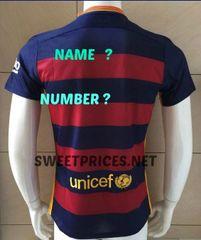 BARCELONA JERSEY 2015 CUSTOM jersey