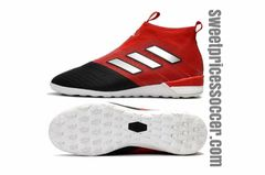 ACE Tango 17+ Purecontrol IC RED/BLACK+free bag Indoor shoes