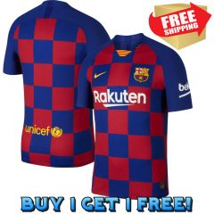Barcelona Jersey ( Home ) Season 19-20 ( Buy 1 Get 1 Free, limited Time! )