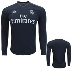 real madrid Jersey ( away ) Long sleeve Season 18-19