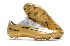Mercurial Vapor XI FG CR7 W/Gold+ FREE BAG