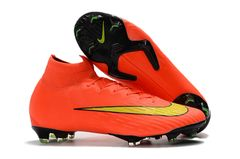Mercurial Superfly VI 360 Elite FG Orange/black+ free bag