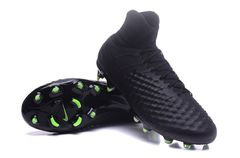 Nike Magista obra II FG-Volt/Black+FREE BAG