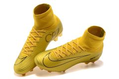 NIke Mercurial Superfly V CR7 FG GOLD +FREE BAG