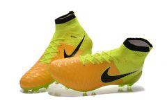 on sale 20fe4 6e87f Nike Magista obra II FG greenyellow +free bag