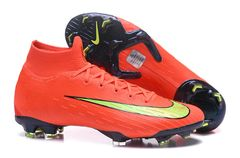 Mercurial Superfly VI Elit FG Orange/M+ free bag