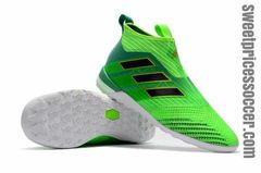 adidas ACE Tango 17+ Purecontrol TF green +free bag Indoor shoes