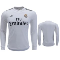 real madrid Jersey ( home ) Long sleeve Season 18-19
