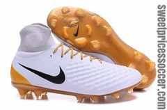 Black Magista obra II FG white/gold +free bag always