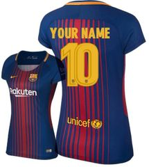 BARCELONA WOMEN JERSEY CUSTOM SEASON 2017-2018