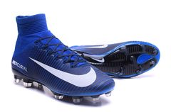 NIke Mercurial Superfly V FG blue+FREE BAG