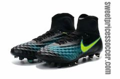 Black multi-color Magista obra II FG +free bag always