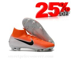 Mercurial Superfly VI 360 Elite ORANGE/M+free bag