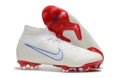 Mercurial Superfly VI 360 Elite FG w/red + free bag