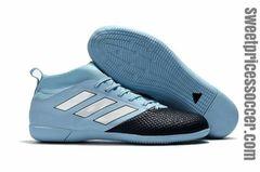adidas ACE 17.3 Primemesh TF lightblue/black + FREE BAG INDOOR SHOES