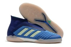 Predator Tango 18+ indoor shoes m/blue+FREE BAG