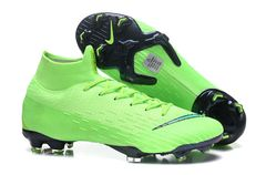Mercurial Superfly VI Elit FG Green/ Black+ free bag