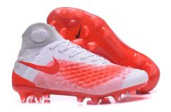 Nike Magista obra II FG WHITE/MULTICOLOR +FREE BAG