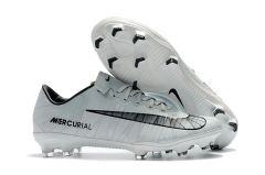 Mercurial Vapor XI FG cr7 white +FREE BAG