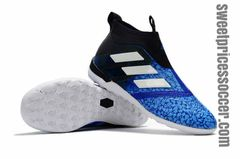 adidas ACE Tango 17+ Purecontrol IC LIGHTBLUE/BLACK+free bag Indoor shoes
