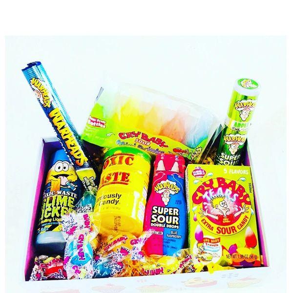 Sour Candy Box