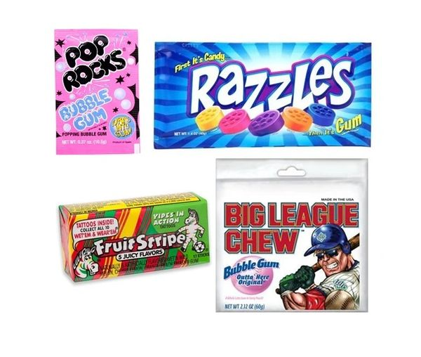Bubble Gum Lovers Sweet Set