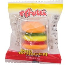 Efrutti Mini Burger 5ct