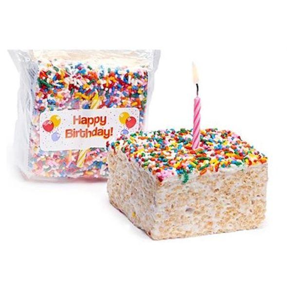 Giant Birthday Rice Crispy Treat - 1CT