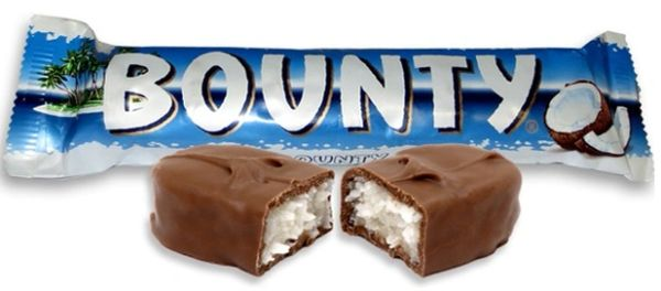 Bounty Bar Milk Chocolate