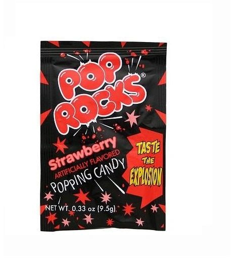 Pop Rocks Strawberry 12ct