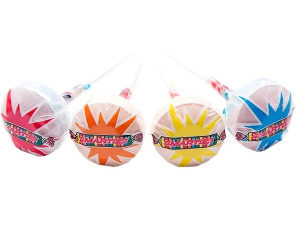 Smarties Lollipops 4ct