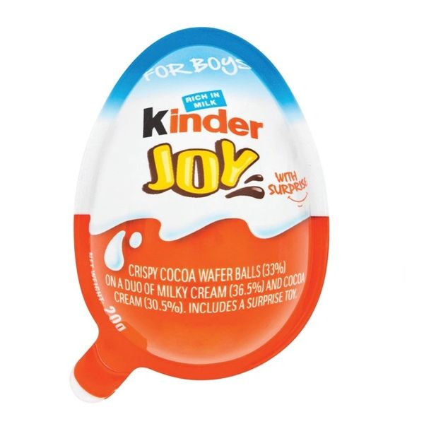 Kinder Joy Egg for Boys