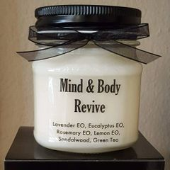 Mind & Body Revive Aromatherapy Soy Candle